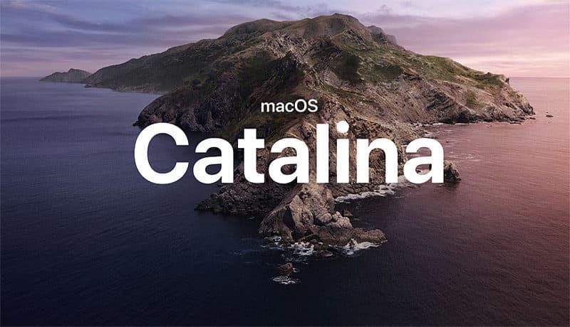 最新macOS Catalina の不具合